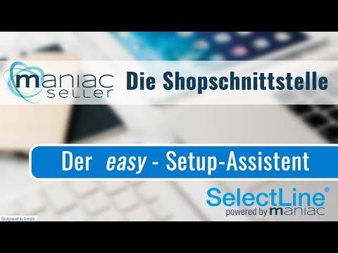 Der easy-Setup Assistent für die Shopschnittstelle von SelectLine zu Shopware