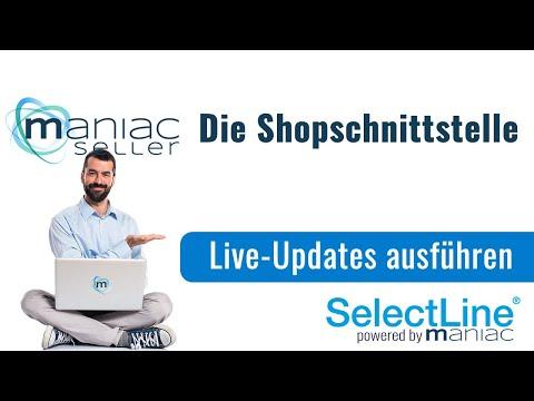 LiveUpdates in der Shopware-Schnittstelle zur SelectLine ausführen