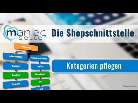 Kategorien für Shopware, SelectLine und Shopware erstellen und hochladen